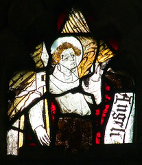 angel with a lance and banner (Simon_K) Tags: wiggenhall mary magdalene magdalen norfolk eastanglia