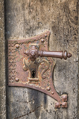 160525_151631_CB_0488 (aud.watson) Tags: europe germany saxony meissen river elbe albrechtsburg meissencathedral woodendoor door doorhandle doorlock
