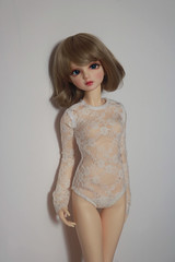 lace bodysuit (aki ) Tags: sdgr volks volksdoll dwc03 lovesprung bodysuit lace dollfashion bjd