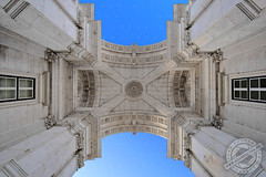 Rua Augusta Arch, Lisbon, Portugal (Adam Zoltan) Tags: arch architecture attraction augusta baixa building city cityscape commercio destination district downtown exterior famous historic historical horizontal landmark lisbon old outdoors popular portugal portuguese praca rua scene sights tourism tourist town travel triumphal urban viewpoint istockphoto shutterstock dreamstime