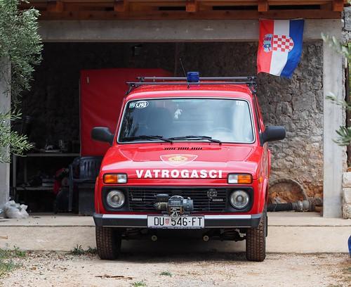 Kalamota fire service, Croatia