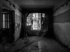 La Casa de los Marqueses (joaquinain) Tags: bw bn black white blanco negro abandonado abandoned olympus omd em1 voigtlander