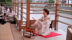 Geisha Dancing (ogawa san) Tags: kanazawa ishikawaprefecture geisha dance river summer
