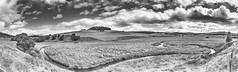 All the mountains on the highland are embracing and surrounding me (OR_U) Tags: 2016 oru uk scotland cairngorms tomintuol panorama hdr bw blackandwhite blackwhite schwarzweiss landscape highlands