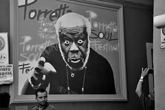 me? (Stefano E) Tags: porretta porrettaterme porrettasoulfestival graffiti streetart artemurale murales people gente blackandwhite street strada urban candid allaperto biancoenero monocromo monochrome candidstreet