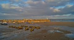 St. Ives, Cornwall (harry.blytheallen) Tags: samii 1855mm shade sun yellowboats sea gb england uk sunset busy lighthouse town boats beach harbour stives cornwall sonyalpha a58 unitedkingdom greatbritain