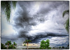 2016-08-28_P8280014_5_6_tonpaintmin_Storm Clouds,Clearwater,Fl (robertlesterphotography) Tags: 12x4028 aroundthehouse aug282016 clearwaterfl clouds hdr m1 stormclouds