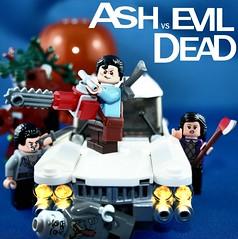 Lego Ash Vs Evil Dead Poster (XxDeadmanzZ) Tags: lego ash vs the evil dead poster