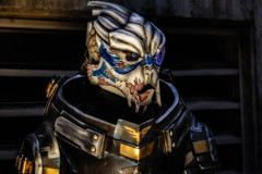(Abel AP) Tags: people cosplay costume fanimecon fanimeconsanjose fanimecon2016 sanjose california cosplayer abelalcantarphotography alien