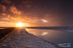 Islanda marzo 2016 (Fotografere e Viaggiare) Tags: 1ring ghiaccio ice iceland islanda sunset tramonto water