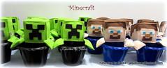 Minecraft Steve (Fofurebas - By Jackie) Tags: minecraft minecraftsteve lembrancinhas lembrancinha menino game lembrancinhaminecraft feltro felt festadeaniversrio festaparameninos cacheps centrosdemesa