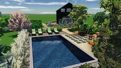 Screenshot of design (The Sharper Cut Landscapes) Tags: landscapedesign landscaping landscapecompany landscapelighting patio pavers pool hardscapes pergola outdoorkitchen thesharpercutlandscapes thesharpercut