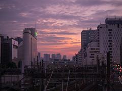 P1000271 (Jun.Ohashi) Tags: ikebukuro railroad railway sky sunny sunset           jp panasonic  lumix  gm1s  microfourthirds mft 43 lumixgvario35100mmf4056asphmegaois lumixgvario35100mm vario 35100mm f4056 asph megaois