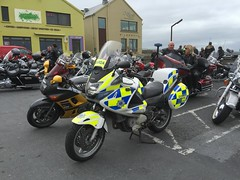 The Leader of the Gang - Irish Police Force - Garda Traffic Corps Honda Motorcycle - Doolin Harley Fest Charity Run - September 2016 - Lahinch, County Clare. (firehouse.ie) Tags: polis politi bikers cycles cycle motor cops cop policia policija polizei policja polizia police motorcycle traffic trafficcorps honda siochana ags garda festival fest bikes bike run 2016 ireland lahinch doolin hogs harleyfest davidson harley