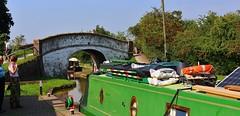Nantwich Marina. (Eddie Crutchley) Tags: europe england cheshire nantwich outdoor sunlight canal barge bridge marina summertime simplysuperb