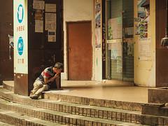guangta lu ximenkou guangzhou reading copy (anwoody) Tags: done china guangzhou streetlife