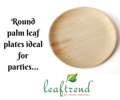 round palm leaf plates and trays (leaftrend1) Tags: eco friendly leaf plates buy online