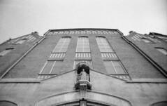 Monumental (Nils Kristofer Gustafsson) Tags: blackandwhite bnw ishootfilm retro rollei 400s lomo lomography sweden rebro keepfilmalive filmisnotdead filmphotography film rodina adonal m42 super takumar 50mm