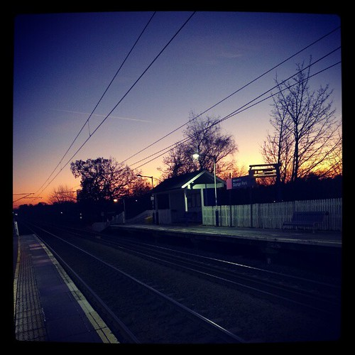 Sunset, freezing cold #sunset #instagram #dusk #sky #bloodycol #n21