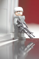 Hostage crisis (N-11 Ordo) Tags: street city modern soldier fight lego military guard bank battle scene andreas national weapon terrorists vest shotgun hud crisis diorama sergeant ordo hostage photograpy n11 brickarms brickforge eclipsegrafx n11ordo baspherical