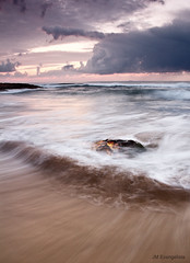 (Jose Manuel Evangelista) Tags: longexposure sunset sea nature clouds marina canon mar spain seascapes murcia amanecer le 7d cartagena marinas calblanque jmevangelista