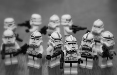 Stopped.... (Taken-By-Me) Tags: storm trooper men star starwars force with lego you may 4th be stormtrooper wars fourth maytheforcebewithyou