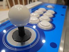 Balltop Closeup (LowFierce) Tags: arcade joystick diamond stick vlx taito hori vewlix vlxd dvlx