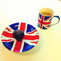 I feel very British today!