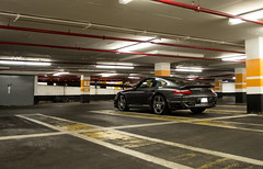 911 (SAMMCEACHERN) Tags: lighting red toronto ontario canada black sports beautiful car yellow photography grey lights photo nikon day garage parking 911 s spot turbo german porsche supercar autography spottting