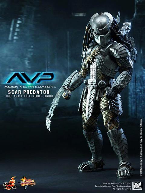 Hot Toys新作推出!MMS190 異形戰場Scar Predator