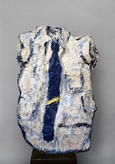 Gran camisa con corbata azul, 1961