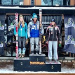 Charley Field 3rd Overall & Top U18 in Panorama Van Houtte GS, Dec 20/12 PHOTO CREDIT: Gregor Druzina