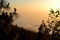 (martu_tgn) Tags: sunset sky espaa sun sol clouds atardecer mar spain canarias cielo nubes tenerife santacruzdetenerife puestadesol teide puertodelacruz