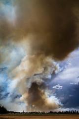 Fire Storm, Billimari NSW (viewfrom91) Tags: storm weather clouds fire wind smoke flames australia farmland burning nsw paddock cowra