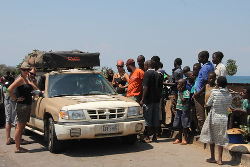 Breakdown on Lake Malawi (1)