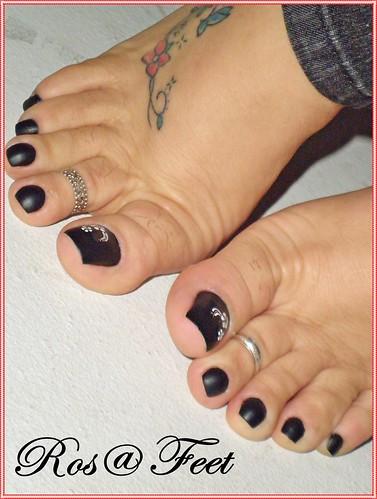 Latina sexy toes