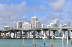 Skyline Miami - Watson Island (TravelMichi) Tags: travel usa reisen florida miami