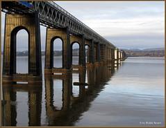 The Tay rail Bridge (eric robb niven) Tags: cycling scotland rivertay dundee railway taybridge canong12 blinkagain ericrobbniven