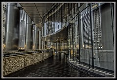 The other half (Tony Lau Photographic Art) Tags: illinois il trump hdr chicagoil chicagoist canoneos7d trumphotelinternational
