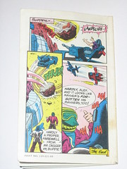 m.a.s.k mini comic 3 assault on boulder hill kenner 9 (tjparkside) Tags: comic mask kenner minicomic