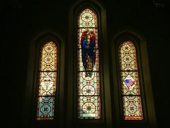 windows in All Saints' Chapel (CP Shelton) Tags: windows gabriel church stainedglass episcopal tec heavenlyrest episcopaldioceseofnorthwesttexas
