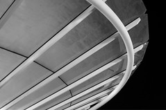 Curves (Goughy !) Tags: blackandwhite building lines 35mm mall mono nikon curves arcitecture cribbs d5000