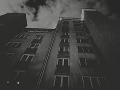 Dead End (Yves Roy) Tags: street city shadow urban blackandwhite bw black contrast dark austria blackwhite interestingness interesting raw moody darkness noiretblanc 28mm snap gloom yr enigmatic fav10 ricohgrd grdiii bureboke yvesroy yrphotography