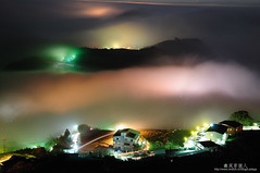 () Tags: fog night clouds taiwan
