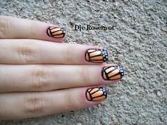 Borboleta nas unhas (Designer de Unhas Letícia Medeiros) Tags: borboleta unhadecorada