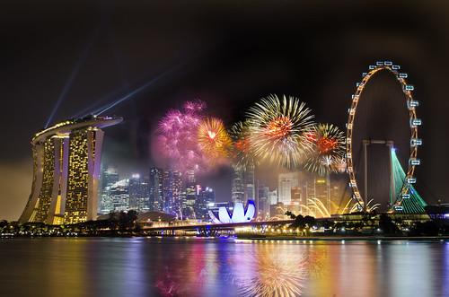 Singapore 2013 Countdown Firework