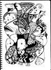 BearHeadsAndFish (AnnieM00) Tags: blackandwhite fish ink drawing polarbear zentangle takealineforawalk zendoodle anniem00
