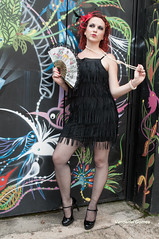 Ensaio Coletivo (Vanderlei Gomes Fotografia :-]) Tags: brazil woman black girl rock brasil model do dress mulher negro modelo teen batman roll garota paulo bibi menina ribeiro so vestido morena beco brunet rockeira magrinha