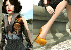 [Posh] Winter (Vixie Rayna) Tags: winter orange shopping blog mesh blogger secondlife blogged posh dura redgrave vixie gizza secondlifefashion lovefashion leezu vixierayna leezubaxterdesigns glamaffair