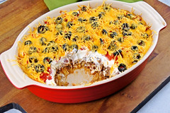 Mexican Casserole (Kitchen Life of a Navy Wife) Tags: